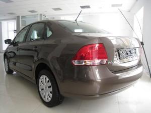 VW Polo сзади