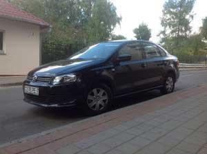 Аренда автомобиля VW Polo Черный
