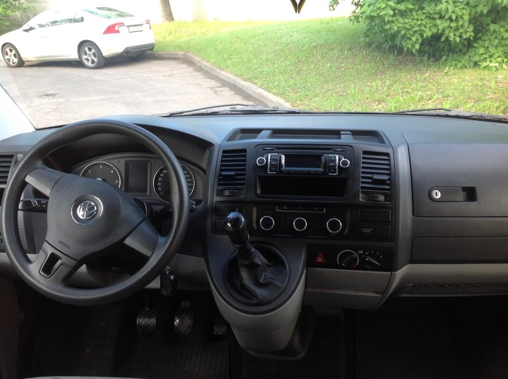 Volkswagen T5 Long салон