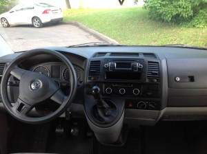 Volkswagen T5 Long салон