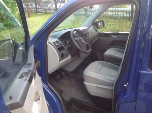 Volkswagen T5 Long внутри