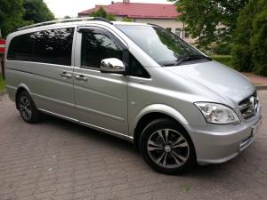 Mercedes-Benz Vito, услуги трансфера