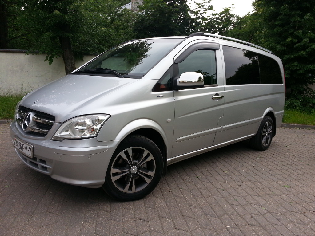 Аренда авто Mercedes-Benz Vito в Минске