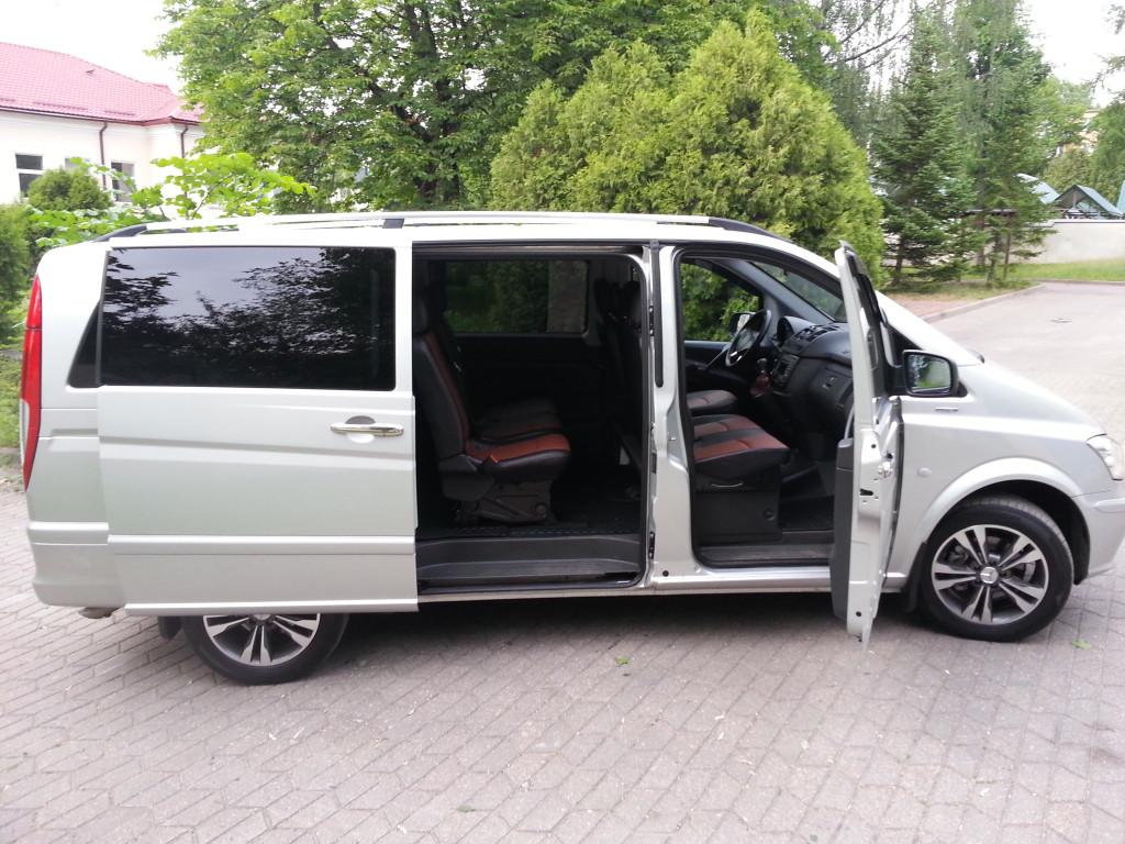 Аренда Mercedes-Benz Vito на мероприятия