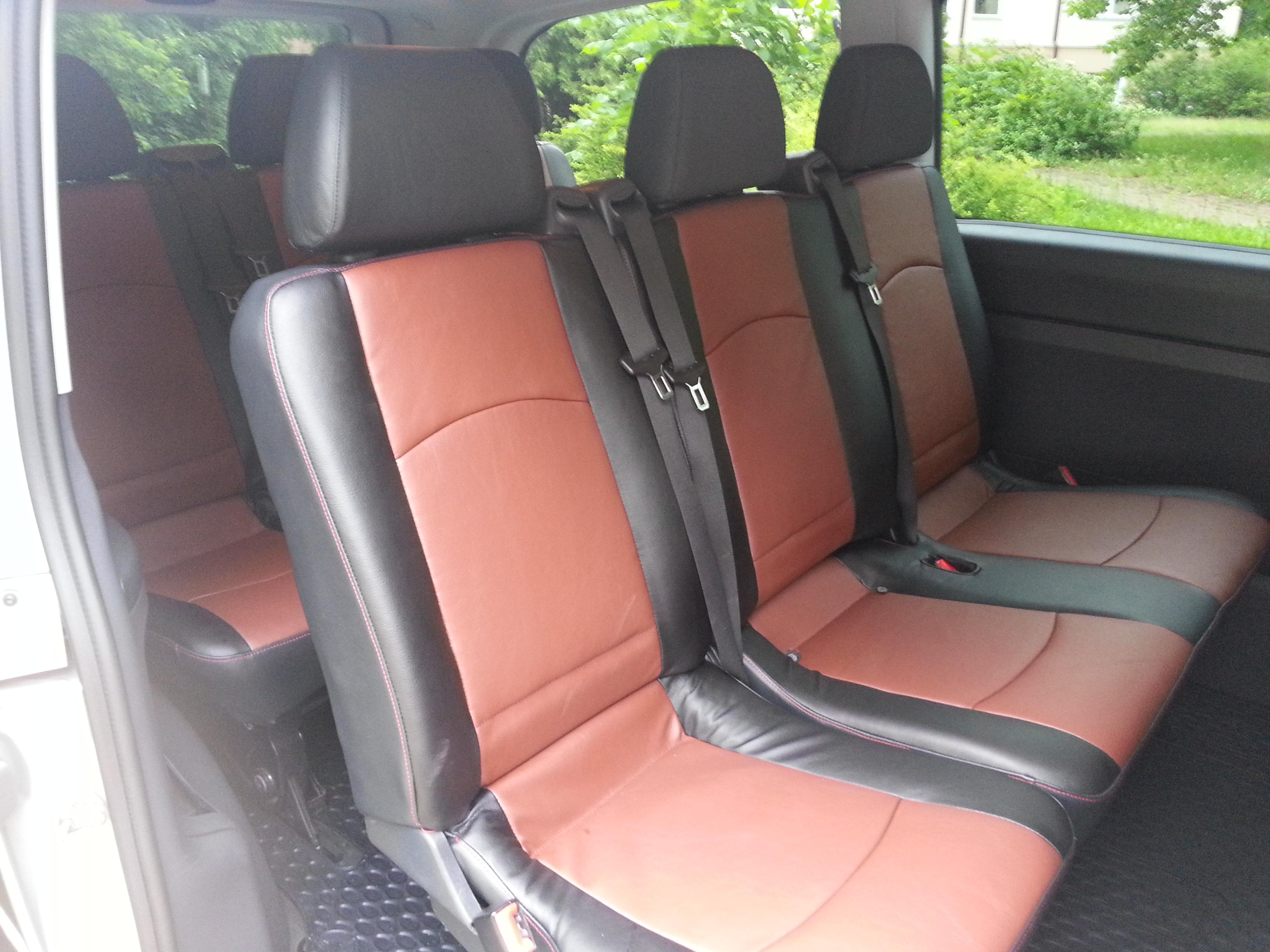 Mercedes-Benz Vito сиденья