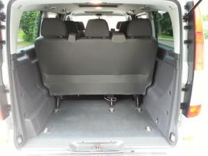 Mercedes-Benz Vito багажник внутри