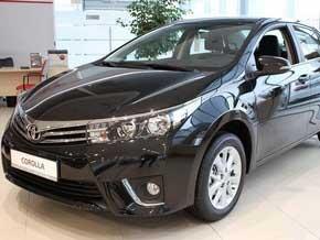 Toyota Corolla напрокат в Минске